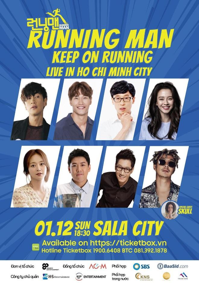 HOT: Công bố thông tin chính thức về fanmeeting Running Man ở Việt Nam, hé lộ thời gian và danh tính khách mời đặc biệt - ảnh 1