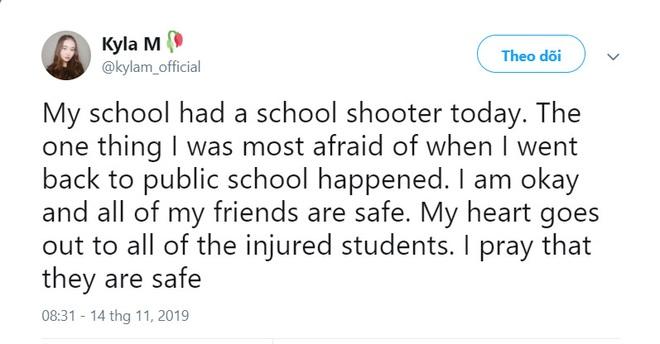 Chấn động vụ nổ súng làm 2 người tử vong tại trường trung học Mỹ, nữ idol nhóm PRISTIN được xác nhận là học sinh ở đây - ảnh 3
