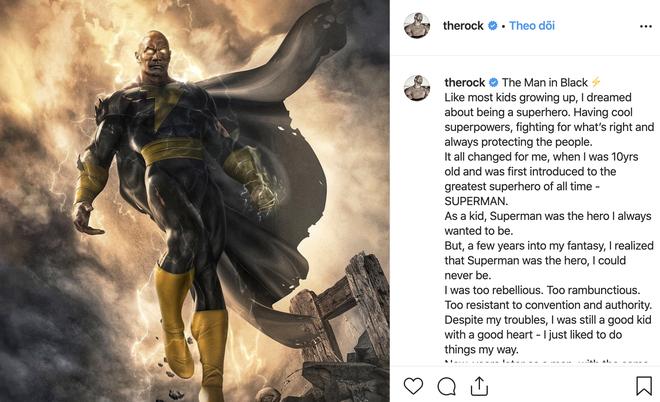 The Rock Dwayne Johnson chính thức nhập hội siêu anh hùng, trở thành đối thủ truyền kiếp của Shazam - Ảnh 3.