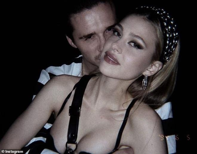 Lần đầu xuất hiện sau tin hẹn hò quý tử Beckham, ái nữ tỷ phú lộ nhan sắc đời thường ra sao? - ảnh 9