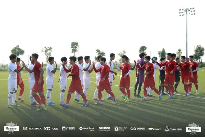 Hòa Myanmar ở trận đấu kín cuối cùng, U22 Việt Nam duy trì thành tích bất bại trước khi bước vào SEA Games 30 - ảnh 2