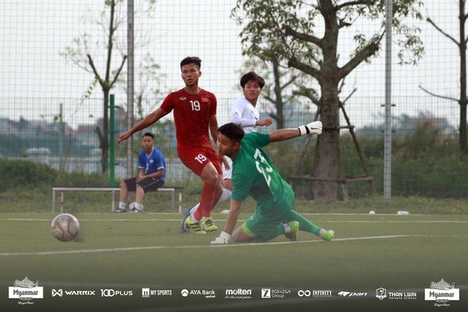 Hòa Myanmar ở trận đấu kín cuối cùng, U22 Việt Nam duy trì thành tích bất bại trước khi bước vào SEA Games 30 - ảnh 3
