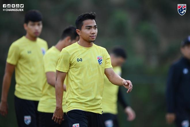 Messi Thái Chanathip tích cực tập luyện chuẩn bị cho màn tái ngộ đôi chân pha lê Tuấn Anh ở Vòng loại World Cup - ảnh 6
