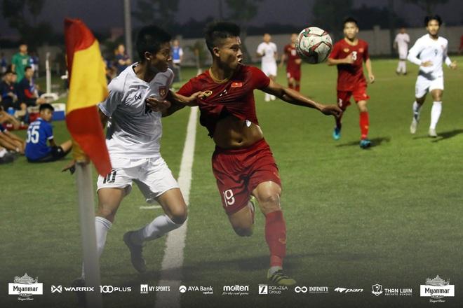 Hòa Myanmar ở trận đấu kín cuối cùng, U22 Việt Nam duy trì thành tích bất bại trước khi bước vào SEA Games 30 - ảnh 4