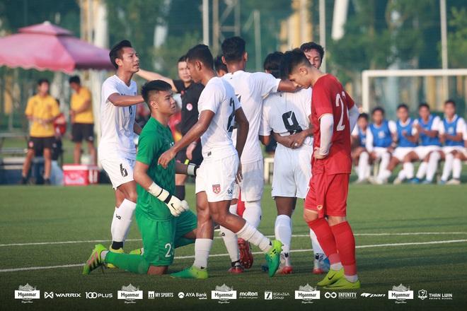 Hòa Myanmar ở trận đấu kín cuối cùng, U22 Việt Nam duy trì thành tích bất bại trước khi bước vào SEA Games 30 - ảnh 1
