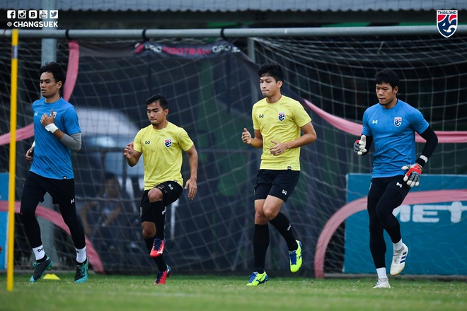 Messi Thái Chanathip tích cực tập luyện chuẩn bị cho màn tái ngộ đôi chân pha lê Tuấn Anh ở Vòng loại World Cup - ảnh 5