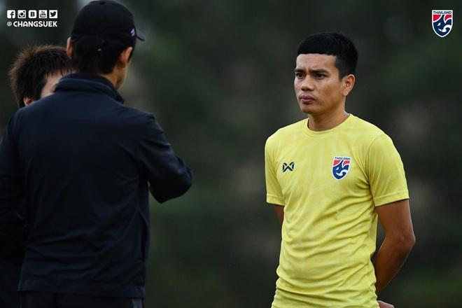 Messi Thái Chanathip tích cực tập luyện chuẩn bị cho màn tái ngộ đôi chân pha lê Tuấn Anh ở Vòng loại World Cup - ảnh 9