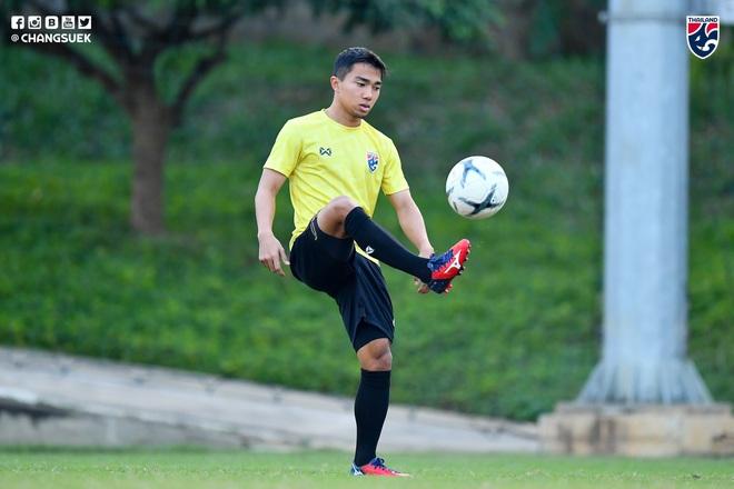 Messi Thái Chanathip tích cực tập luyện chuẩn bị cho màn tái ngộ đôi chân pha lê Tuấn Anh ở Vòng loại World Cup - ảnh 2