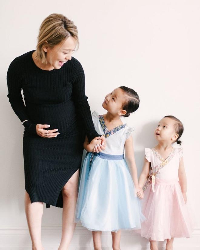Ai mà ngờ cựu thành viên Wonder Girls giờ đã là mẹ 3 con, công khai gương mặt của 2 đứa bé - ảnh 8
