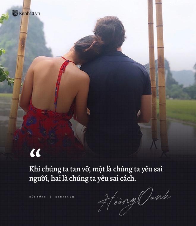 Hoàng Oanh và loạt chia sẻ từng trải về chuyện yêu trước đám cưới: Tình cảm lúc nồng nhiệt quá thì rất mệt, lúc lạnh nhạt quá thì rất buồn - ảnh 1