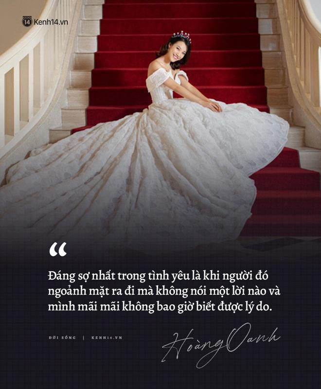 Hoàng Oanh và loạt chia sẻ từng trải về chuyện yêu trước đám cưới: Tình cảm lúc nồng nhiệt quá thì rất mệt, lúc lạnh nhạt quá thì rất buồn - ảnh 4