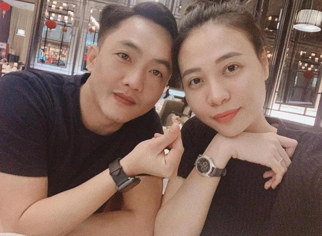 Được Cường Đô La mừng sinh nhật sớm, Đàm Thu Trang lần đầu để lộ vóc dáng sau tin đồn mang thai con đầu lòng - Ảnh 7.