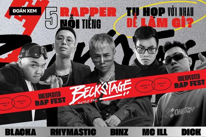 30 trận battle nảy lửa, sân khấu nắp chai bia chất lừ... và rất nhiều điều đáng mong chờ trong sự kiện hoành tráng nhất lịch sử Rap, Hip Hop Việt! - ảnh 3