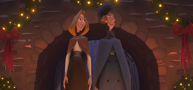 Klaus - Câu Chuyện Giáng Sinh: Kiệt tác đẹp từng khung hình, cuộc cách mạng phim hoạt hình 2D - Ảnh 14.