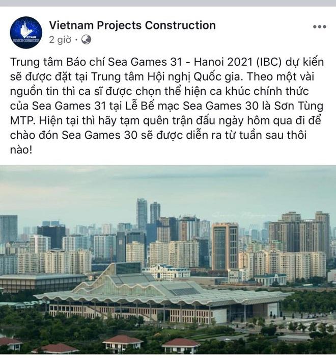 Chuyện xôn xao lúc nửa đêm: Sơn Tùng M-TP là người được chọn thể hiện ca khúc chủ đề SEA Games 31 tại Việt Nam? - ảnh 1