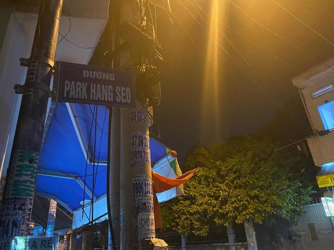 Đường Park Hang-seo ở quận 9.