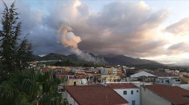 Nổ nhà máy sản xuất pháo hoa ở Italy, ít nhất 5 người thiệt mạng - ảnh 1