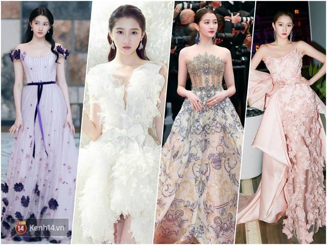 Nữ hoàng thảm đỏ Cbiz 2019: Phạm Gia sa sút phong độ, Triệu Vy ngày một đẳng cấp, Angela Baby và Quan Hiểu Đồng đua đồ Haute Couture - ảnh 38
