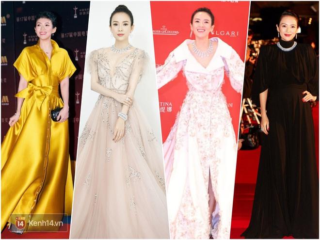 Nữ hoàng thảm đỏ Cbiz 2019: Phạm Gia sa sút phong độ, Triệu Vy ngày một đẳng cấp, Angela Baby và Quan Hiểu Đồng đua đồ Haute Couture - ảnh 13