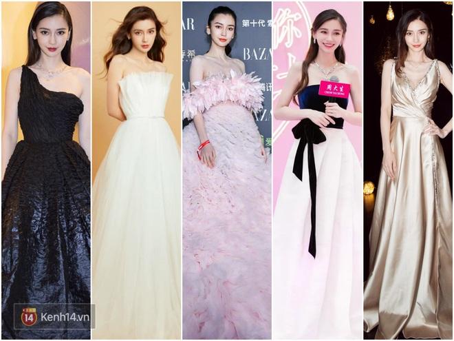 Nữ hoàng thảm đỏ Cbiz 2019: Phạm Gia sa sút phong độ, Triệu Vy ngày một đẳng cấp, Angela Baby và Quan Hiểu Đồng đua đồ Haute Couture - ảnh 19