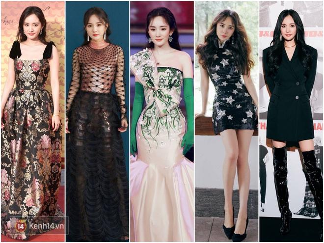 Nữ hoàng thảm đỏ Cbiz 2019: Phạm Gia sa sút phong độ, Triệu Vy ngày một đẳng cấp, Angela Baby và Quan Hiểu Đồng đua đồ Haute Couture - ảnh 26