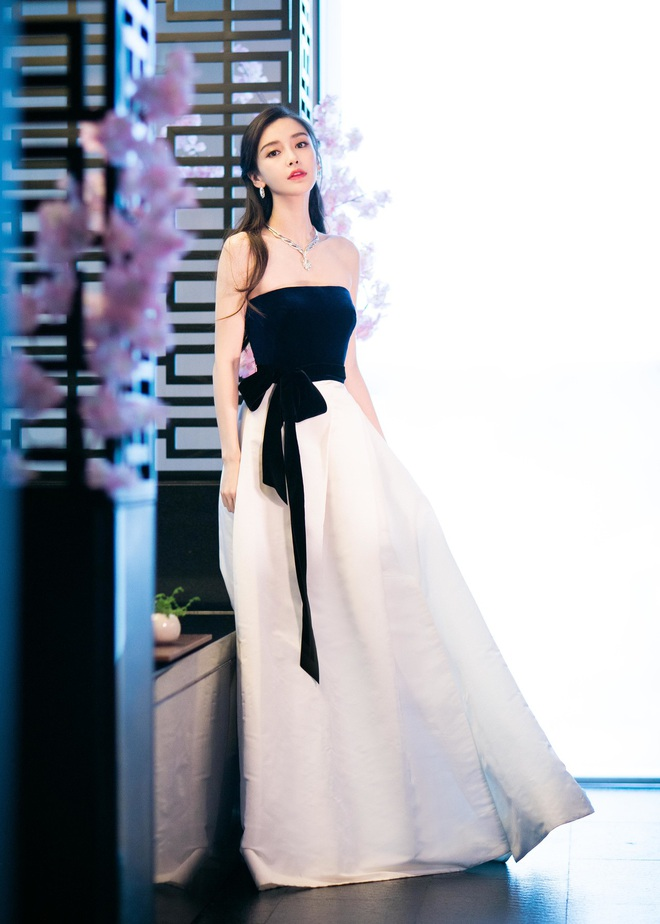 Nữ hoàng thảm đỏ Cbiz 2019: Phạm Gia sa sút phong độ, Triệu Vy ngày một đẳng cấp, Angela Baby và Quan Hiểu Đồng đua đồ Haute Couture - ảnh 23