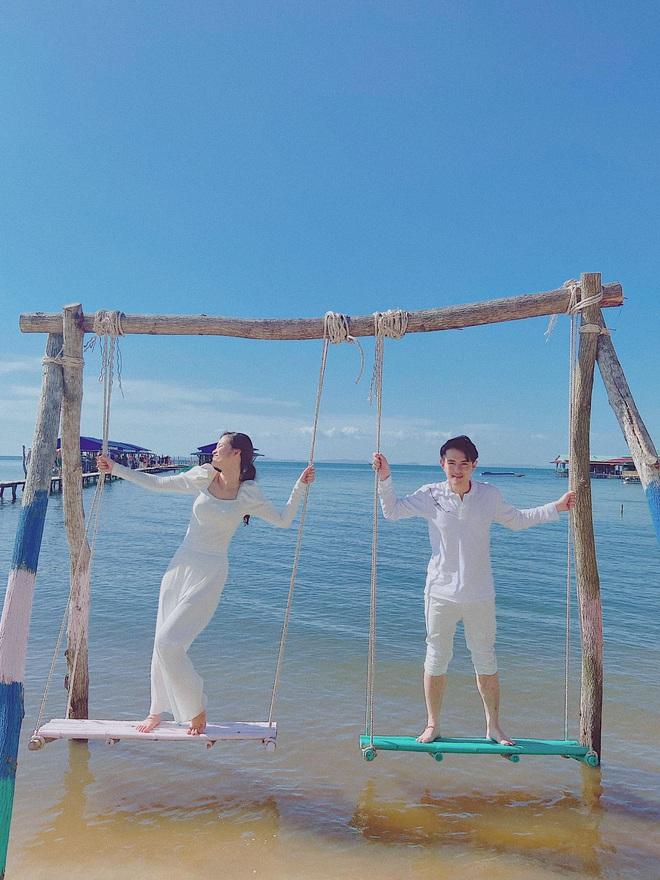 Vợ chồng Đông Nhi - Ông Cao Thắng tiếp tục vi vu hậu lễ cưới thế kỷ, tung loạt khoảnh khắc đẹp như MV - Ảnh 1.