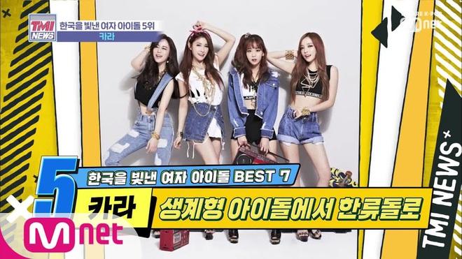 """7 girlgroup Kpop làm rạng danh Hàn Quốc: """"Tường thành"""" và """"nhóm nữ quốc dân thế hệ mới"""" vẫn phải chịu thua BLACKPINK - Ảnh 6."""