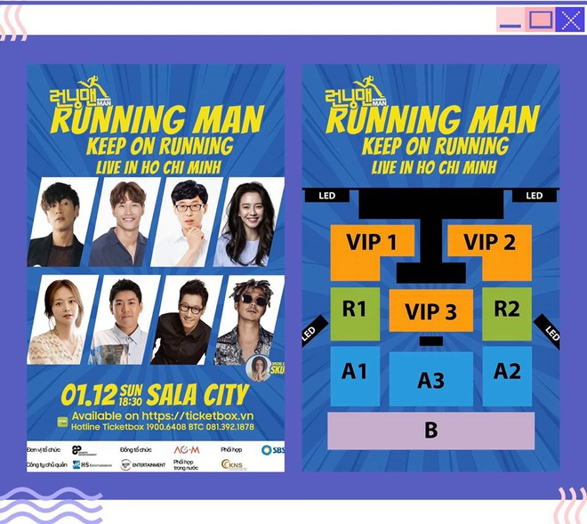 Running Man Hàn Quốc chính thức xác nhận về Fan Meeting tại Việt Nam, giá vé mềm hơn Indonesia - ảnh 1