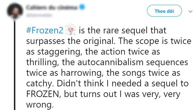 Frozen 2 được khen hay ăn đứt phần 1: Cảm xúc thăng hoa, ca khúc chủ đề ám ảnh không kém Let It Go - Ảnh 7.
