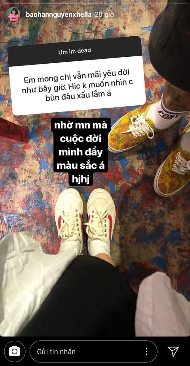 Rapper Khói và Bảo Hân vẫn tương tác nhiệt tình trên Instagram sau khi tuyên bố chia tay: Không yêu vẫn làm bạn là có thật? - ảnh 2