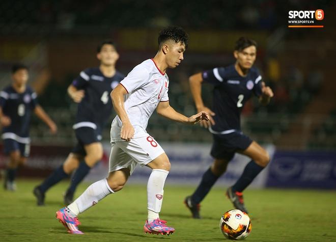U19 Việt Nam thắng dễ U19 Guam 4-1, phù thủy trắng vẫn nổi điên trong ca-bin đội nhà - ảnh 13