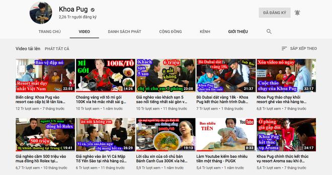 """Cuộc chiến đọ view giữa các kênh du lịch - ẩm thực hot nhất hiện nay: Khoa Pug, Bà Tân cũng phải """"chào thua"""" trước YouTuber này! - Ảnh 14."""