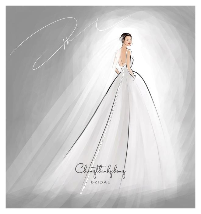Chính thức hé lộ 2 mẫu váy cưới cực lộng lẫy, được đặt may riêng theo yêu cầu khắt khe của Đông Nhi cho hôn lễ - ảnh 1