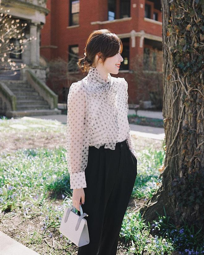 Diện mẫu váy áo đậm chất tiểu thư này, trông bạn sẽ quý phái và yêu kiều hệt như các mỹ nhân Kbiz vậy - ảnh 12