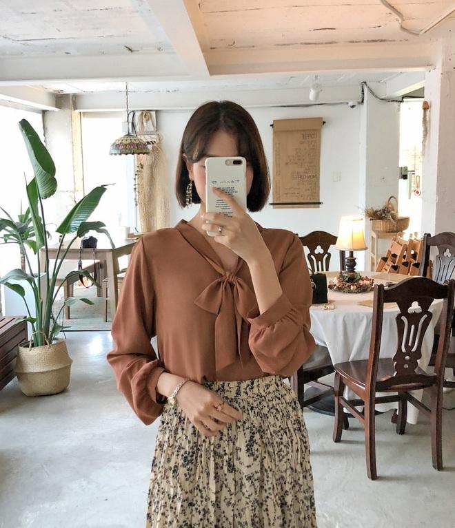 Diện mẫu váy áo đậm chất tiểu thư này, trông bạn sẽ quý phái và yêu kiều hệt như các mỹ nhân Kbiz vậy - ảnh 14