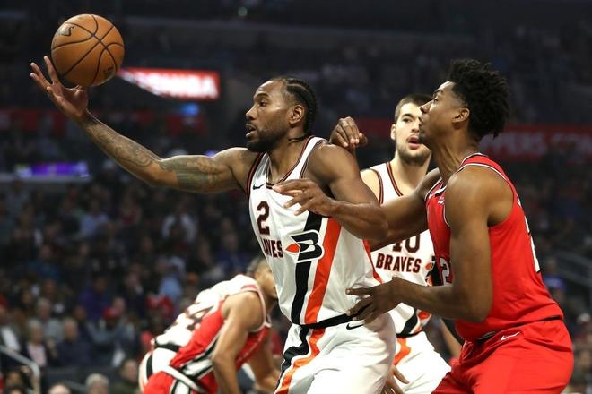 NBA 19-20: Bùng nổ ở hiệp 4, Kawhi Leonard giúp Los Angeles Clippers thoát thua trước Portland Trail Blazers - ảnh 4