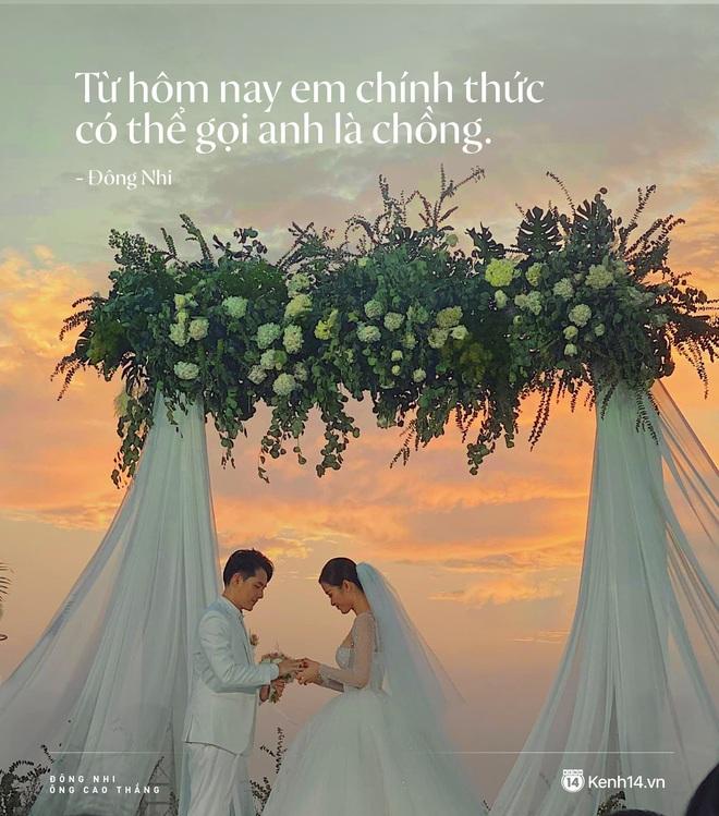 Tan chảy trước lời hẹn ước trong nước mắt của Đông Nhi - Ông Cao Thắng: Đã phải đợi rất lâu để có thể gọi nhau là vợ chồng! - ảnh 1