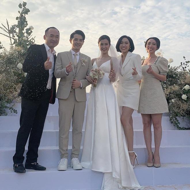 Dàn khách mời nữ trong đám cưới Đông Nhi cũng lên đồ xuất sắc quá trời: Đẹp mỹ mãn mà chẳng hề lấn át cô dâu - ảnh 11