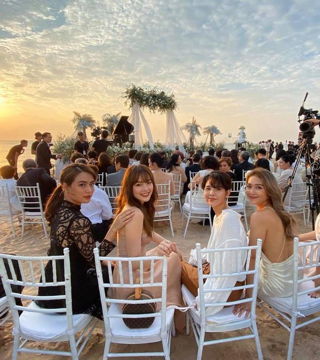Hội chị em đọ sắc ngợp trời cùng khung hình tại đám cưới Đông Nhi - Ông Cao Thắng, Vũ Cát Tường gây bất ngờ nhất - ảnh 2