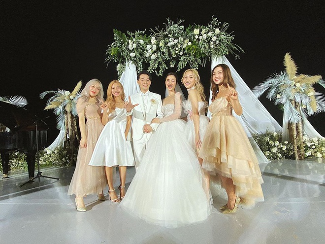 Dàn khách mời nữ trong đám cưới Đông Nhi cũng lên đồ xuất sắc quá trời: Đẹp mỹ mãn mà chẳng hề lấn át cô dâu - ảnh 13