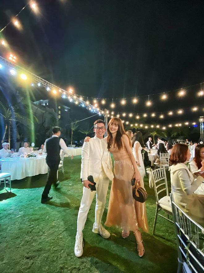 Dàn khách mời nữ trong đám cưới Đông Nhi cũng lên đồ xuất sắc quá trời: Đẹp mỹ mãn mà chẳng hề lấn át cô dâu - ảnh 4