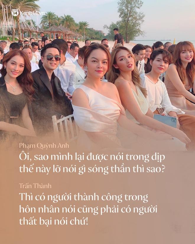 Không chỉ nhắc chuyện quá khứ của Hari Won, Trấn Thành còn gây sốc bởi loạt câu nói trong siêu đám cưới Đông Nhi và Ông Cao Thắng - ảnh 4