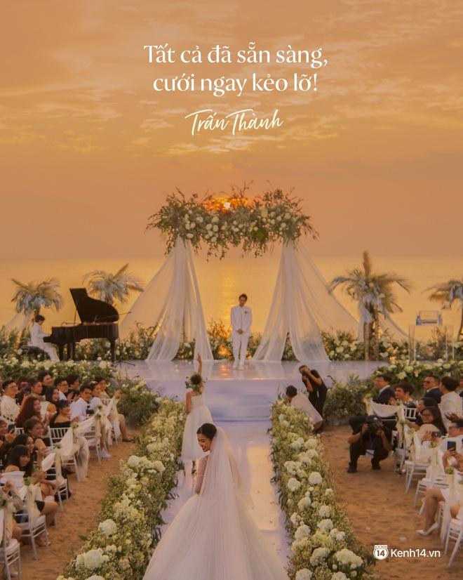 Không chỉ nhắc chuyện quá khứ của Hari Won, Trấn Thành còn gây sốc bởi loạt câu nói trong siêu đám cưới Đông Nhi và Ông Cao Thắng - ảnh 5