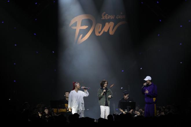 Kimmese rap sung đến quên cả lời trong liveshow Đen Vâu, chia sẻ ai mời hát chung thì lấy cát-xê nhưng hát cùng Đen thì miễn phí! - ảnh 1