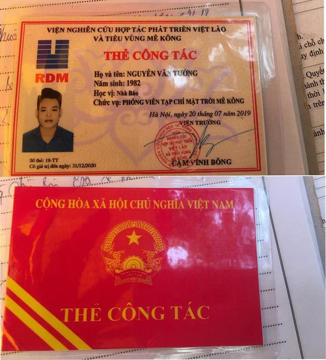 Bị CSGT dừng xe kiểm tra, thanh niên rút thẻ nhà báo rởm để xin xỏ - ảnh 1