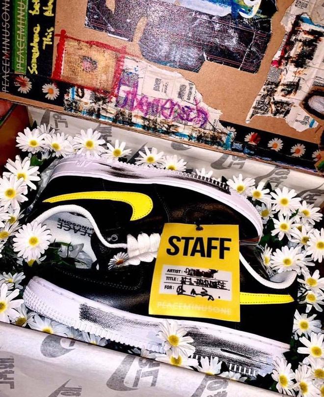 Siêu phẩm sneaker G-Dragon x Nike: Có tới 3 phiên bản, bản giới hạn tại Hàn đã bay màu chỉ trong 1 ngày - ảnh 11