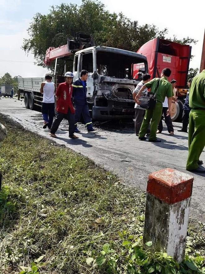 Người đàn ông chết cháy thương tâm sau va chạm kinh hoàng với xe tải - ảnh 3