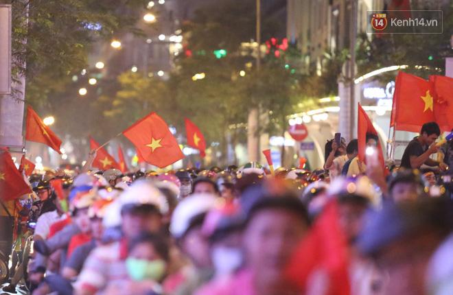 Cấm phương tiện lưu thông vào trung tâm Sài Gòn để người dân cổ vũ U22 Việt Nam đá chung kết Sea Games 30 - Ảnh 1.