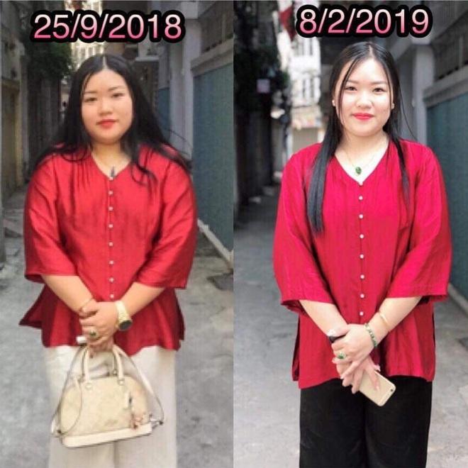 Từng phải rửa ruột vì uống thuốc giảm cân, cô nàng nặng gần 90kg áp dụng Eat clean để giảm được hẳn 30kg trong 1 năm - ảnh 1